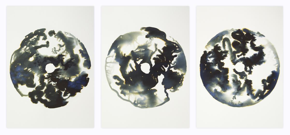 Triptych 45 x 105cm
