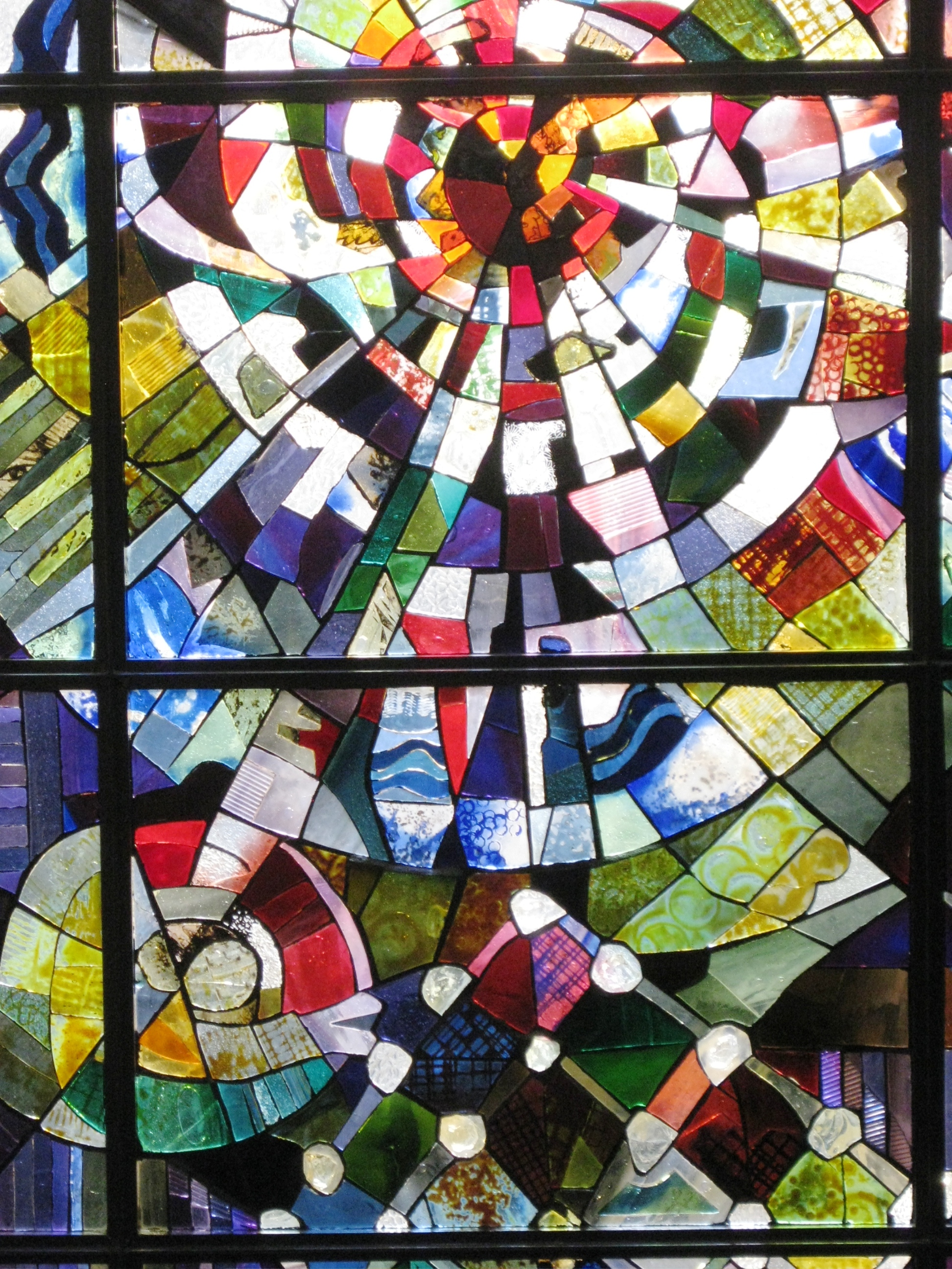 Stained Glass Art at RSC. Photo Caroline Banks