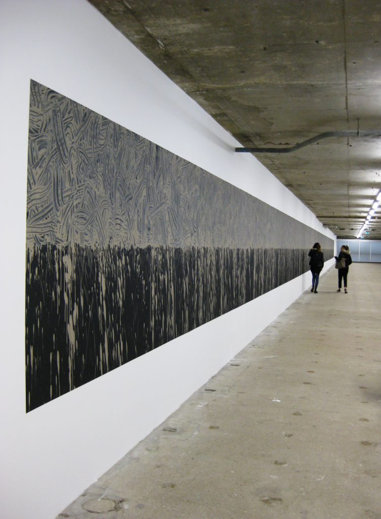 Pelopennese Line by Richard Long. Photo by Caroline Banks