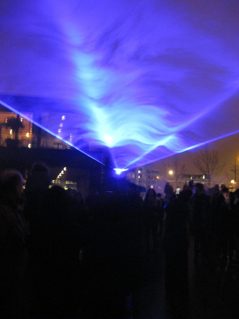Waterlicht at Lumiere London. Photo by Caroline Banks
