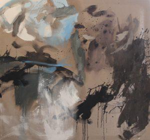 Paintings by Gail Harvey at the London Art Fair